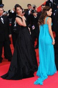 In 2008 with Eva Longoria