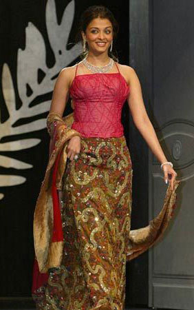 In 2003 in Neeta Lulla creation got much flak for