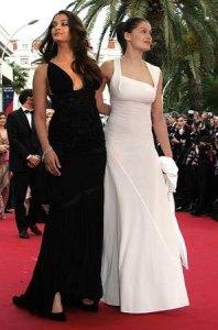 In 2005 with Laetitia Casta in a Gucci. Nice.